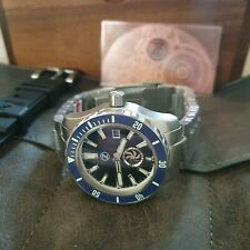 Zelos Abyss 3 3000m Automatic Diver watch - Midnight Blue Turbine -Swiss Sellita