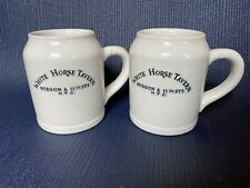 White Horse Tavern Mugs Lot Of 2 Hudson & 11th. Sts N.Y.C