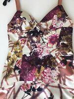 Just Cavalli Floral Print Dress Size: 40EU