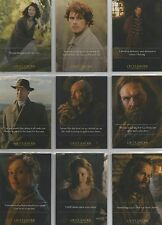 "Outlander Season 1 - ""Quotes"" 9 Card Chase Set #Q1-9"