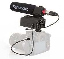 Saramonic MixMic Directional Shotgun Microphone w. 2-Channel XLR Mixer for DSLR