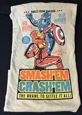 Marvel Iron Man Captain America Civil War Smash Em Crash Em T-Shirt XL NEW