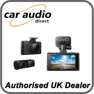 Pioneer VREC-DH300D Front Rear Facing CMOS Sensor with STARVIS™ Accident Camera