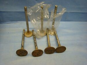 Pontiac 347 370 389 Exhaust Valve Set 1957 - 1960 Chieftain Starchief 523803 OEM