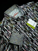 Robert Graham Geometric Striped Print Vtg Sports Shirt $199