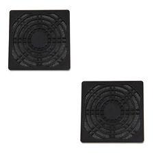 2 ×Dustproof 120mm Case Fan Dust Filter for Computer PC