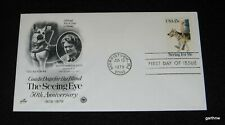 SEEING EYE GUIDE DOGS FOR THE BLIND 1979 FIRST DAY COVER DOROTHY HARRISON EUSTIS