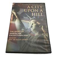 A City Upon a Hill DVD Newt Gingrich, Donald Trump, Dana loesch ~New~ Ship Daily