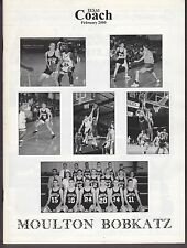 2000 Texas Coach Magazine February Moulton HS 19389
