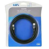 HDMI (M) to HDMI (M) Cable w/Ethernet & Locking Connector (Black)
