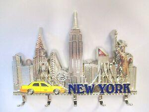 New York Schlüsselbrett Metall Empire Chrysler Taxi Freiheitsstatue