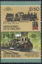 1913 Class 60-3 Shay No.15 (West Side Lumber Company) Train Stamps / LOCO 100