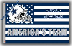 Dallas Cowboys America's Team Memorable Flag 90x150cm 3x5ft best banner