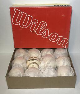 Vintage Wilson Official Baseballs Professional League A1060 One Dozen