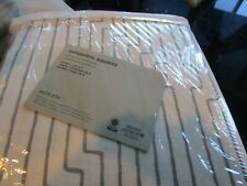 2 West Elm Concentric Squares drapes panel 48 108 New