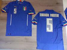 FW14 PUMA XL HOME ITALIA 5 THIAGO MOTTA MAGLIA MAGLIETTA MONDIALI SHIRT JERSEY