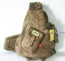 MULTIFUNCTION_men's Canvas Backpack Shoulder bag Military Style M119K durable