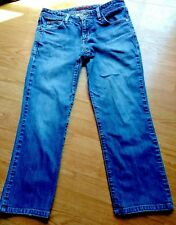 Eddie Bauer Womens Jeans Size 4P Short Classic Fit  Femme Medium Wash Pants Blue
