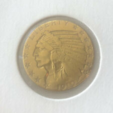 1910 $5 GOLD Indian Head Half Eagle Coin