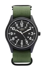 Limit Mens Green Canvas Strap Watch 5723 RRP £19.99