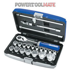 "Britool Expert E032900 22 Piece 1/2"" Square Drive Metric Socket Set & Ratchet"