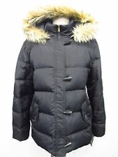 RALPH LAUREN XL Faux-Fur Hooded Toggle-Front Down Puffer Jacket MSRP $245 X126