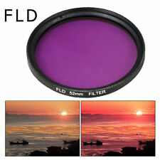 52mm Filter Kit UV CPL FLD ND2 4 8 + Lens Hood for Nikon D7100 D5200 D3200 LF133