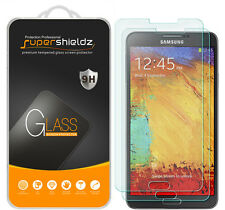 2X Supershieldz Tempered Glass Screen Protector Saver For Samsung Galaxy Note 3