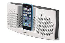 Bose® - SoundDock® XT Speaker - White/Dark Gray