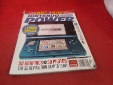 Nintendo Power Volume 265 March 2011 Nintendo 3DS Console Launch Special Cover