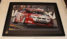 Holden Racing Team HRT Jason Bright 2001 V8 Supercar Signed Framed Print X-Large