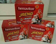 HEMAVITON JRENG T8 PLUS HONEY ENERGY STAMINA DRINK (30 SACHETS @4.2GM)