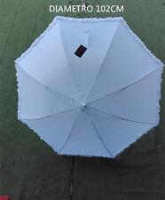 Ombrello da sposa MATRIMONIO bianco  wedding feste.. lunghezza  85CM Diam.102CM