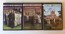 Lot 3 DOWNTON ABBEY Season 1 2 4 (DVD, 3-Disc Set) 9 Discs