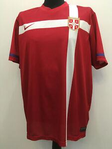 Serbia Serbien 2014/2015 NIKE Shirt Jersey Trikot Maillot Domicile (XXL) Mint