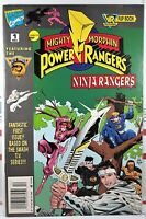 💥 NINJA RANGERS VR TROOPERS #1 NEWSSTAND VARIANT FLIPBOOK MARVEL Mighty Morphin