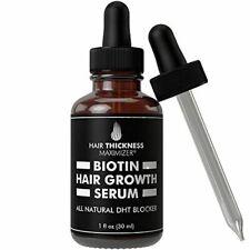 Hair Thickness Maximizer Biotin Hair Growth Serum DHT Blocker Oil For Hair 1 oz