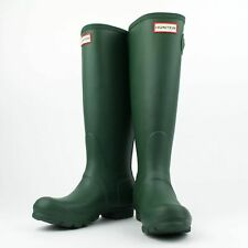 NIB HUNTER Hunter Green Original Tall Rain Boots Shoes Size US 6 UK 4 EU 37