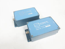 2x SPECTRACOM 8140T10 FREQUENCY DISTRIBUTION LINE TAP