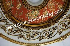 "Ceiling Medallion 43"" Michel Angelo for Crystal Chandelier BUY WHOLESALE 217"