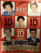 ONE DIRECTION (RED) X50 STICKERS