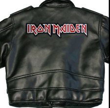 IRON MAIDEN X-LARGE BACK SEW ON PATCH LOGO NEW RARE