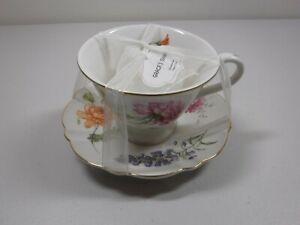 Grace's Teaware Cup And Saucer Tea Set Floral Design NEW
