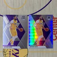 Panini 2019-2020 Mosaic Basketball Anthony Davis LA Lakers Silver Prizm INVEST🔥