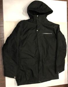 Salomon ClimaPro Winter Ski Jacket Soft Shell Fleece Lined Mens Size XL