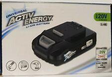 ACTIV ENERGY Batterie Li Ion 20 Volt 2,0Ah 36 WH Pour Ferrex Akku-Werkzeuge