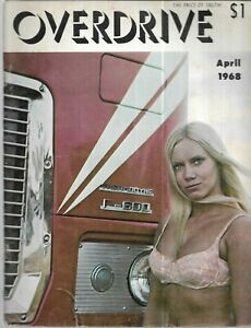 Overdrive Magazine April 1968