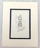 1889 Antico Stampa Fairy Costume Vittoriano Decorato Abito Teatro Play Attrice