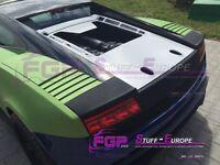 Glass engine lid for Lamborghini Gallardo