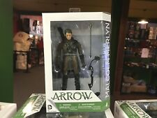 "2015 DC Direct Arrow TV Show 7"" Inch Action Figure MOC - MALCOLM MERLYN"